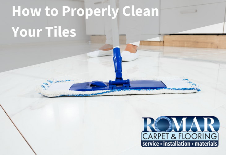 How to Properly Clean Your Tiles