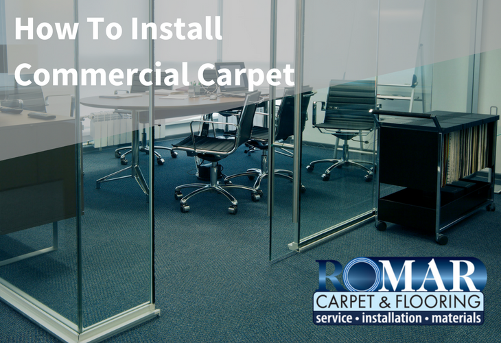How to Install Commercial Carpet Chicago